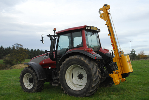 Tractor Top Link Extension : Steel post driver bryce suma